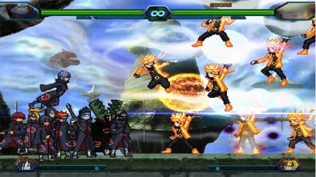 cach choi game Bleach vs Naruto