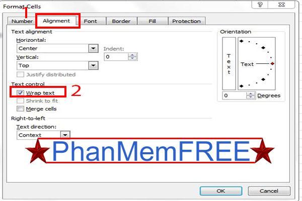 3 cách xuống dòng trong Excel dễ nhất