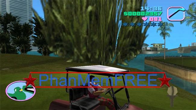Mã điều khiển phương tiện trong GTA