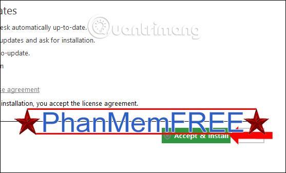 Các điều khoản phần mềm