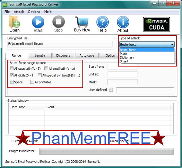 """Chọn một phương pháp để """"xâm nhập"""" file Excel"""