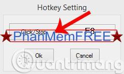 Tùy chọn Hotkey