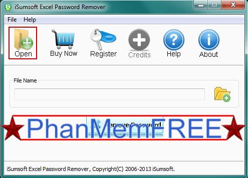 """Click chọn nút Remove password để bắt đầu quá trình """"phá"""" mật khẩu bảo vệ file Excel"""