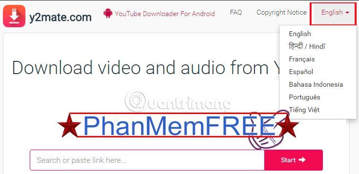 Tải video, mp3 Youtube