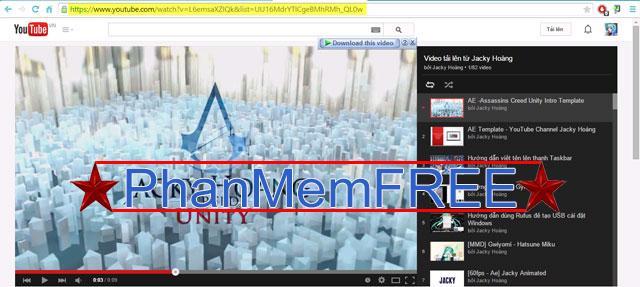 Thủ thuật tải Video từ Youtube không cần dùng phần mềm