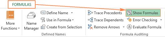 Hướng dẫn hiển thị và in công thức trong bảng tính Excel 2010, 2013 và 2016