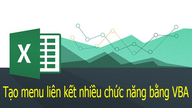Tạo Menu trong Excel