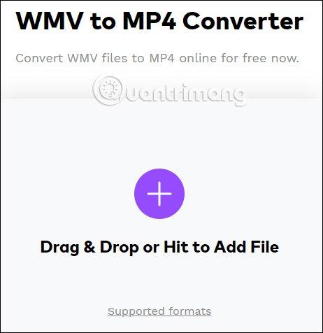 Cách đổi đuôi video WMV sang MP4