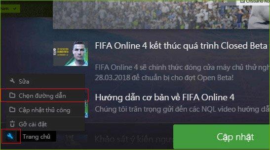 Cách tải và cài đặt FIFA Online 4