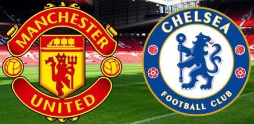 Manchester United vs Chelsea ngoại hạng anh vòng 19