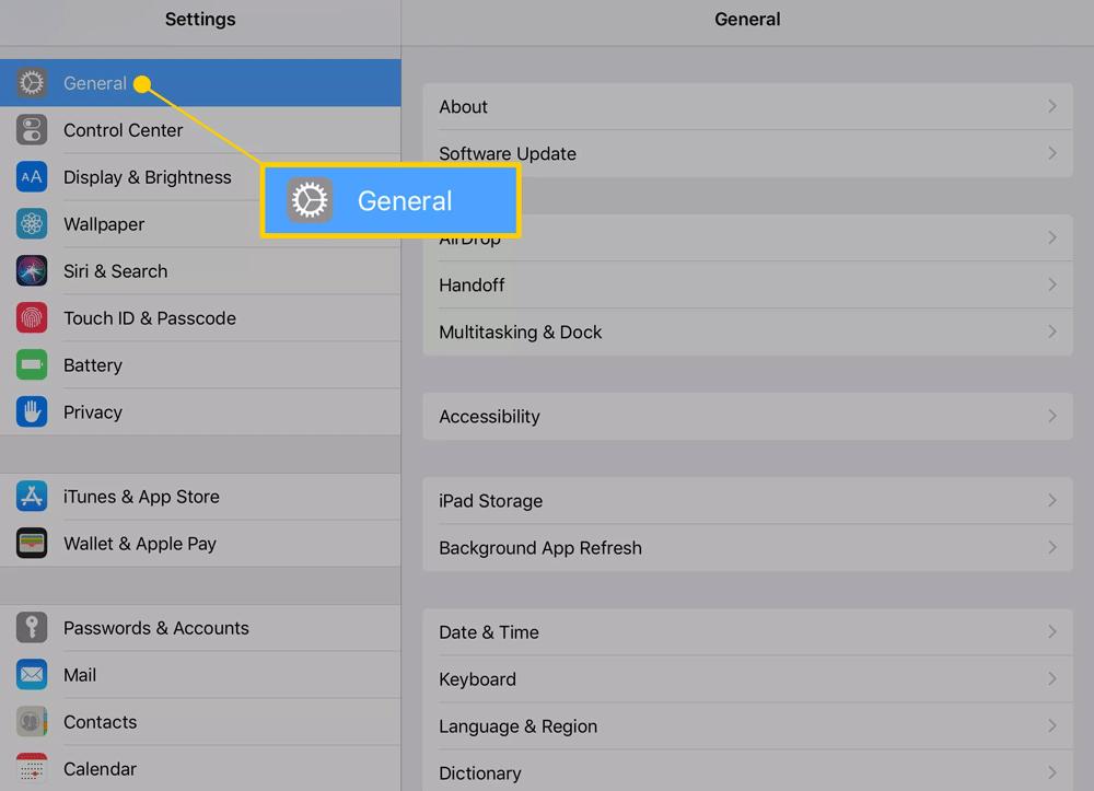 Hướng dẫn reset iPad toàn tập