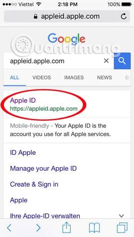 Quên mật khẩu iCloud và cách khôi phục nhanh nhất