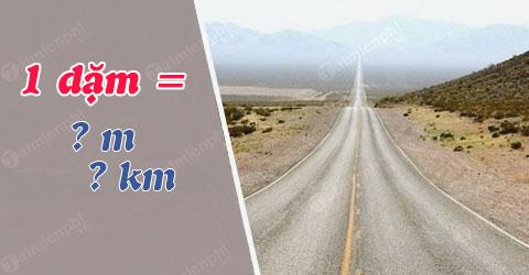 1 dặm bằng bao nhiêu m, km