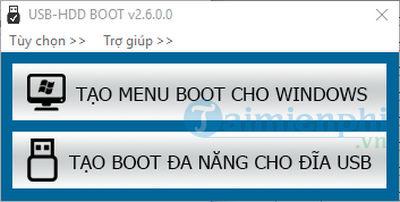 Cách sử dụng Usb HDD boot