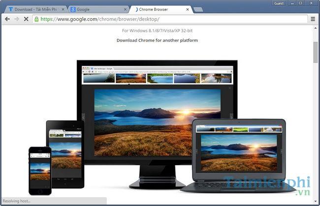 Google Chrome di động
