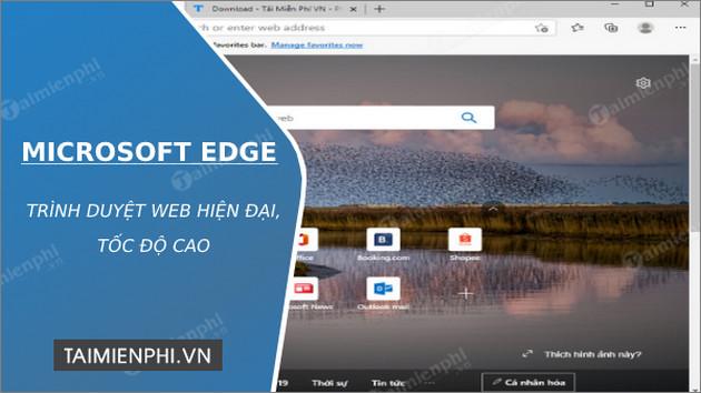 Phần mềm Microsoft Edge