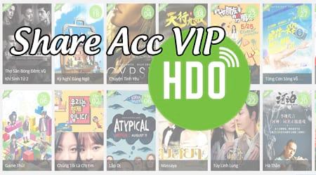 Share Acc VIP HDOnline.vn, chia sẻ tài khoản HDONline.vn VIP