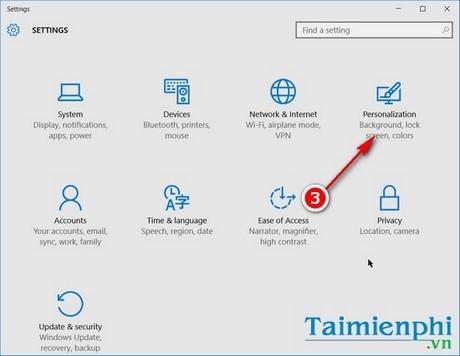 Cài đặt nhanh thanh tác vụ trên Windows 10
