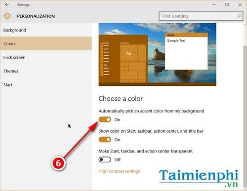 Cách thay đổi nhanh thanh tác vụ trên Windows 10