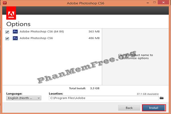 Cai Dat Photoshop CS6 Day Du