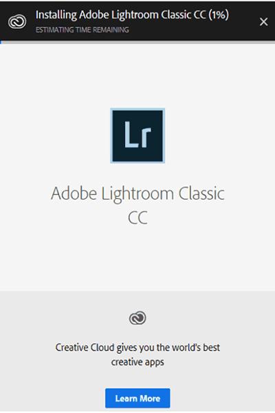 cai dat Adobe Lightroom full crack