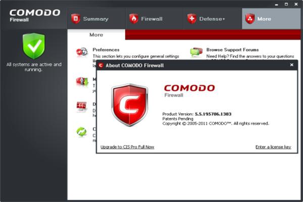 Comodo Firewall Full Crack