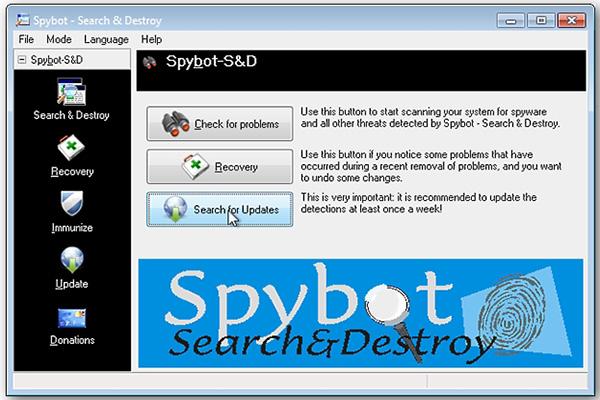 Download Spybot Search