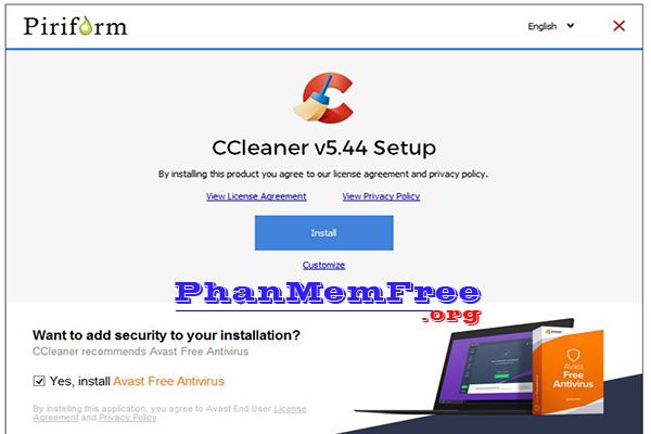 Phan Mem Quet Rac CCleaner
