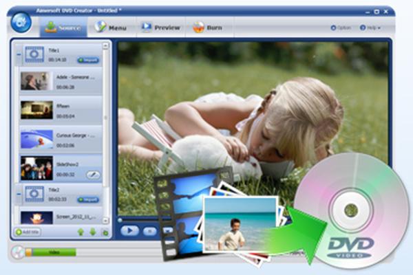 Download Video DVD Maker Tao Video