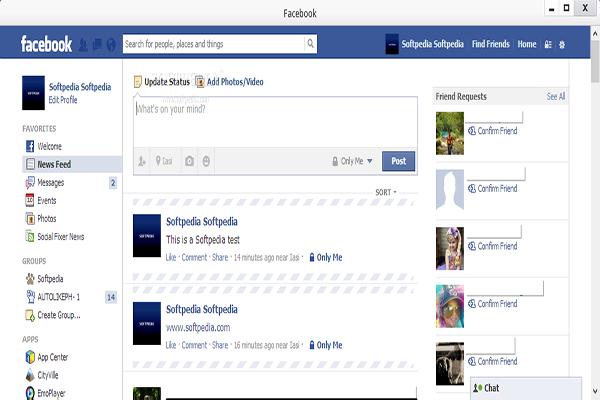 Facebook for Pokki