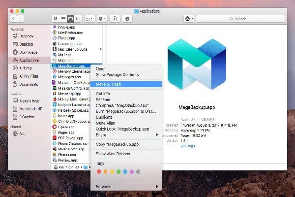 Download MegaBackup
