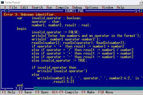 Download Pascal lap trinh