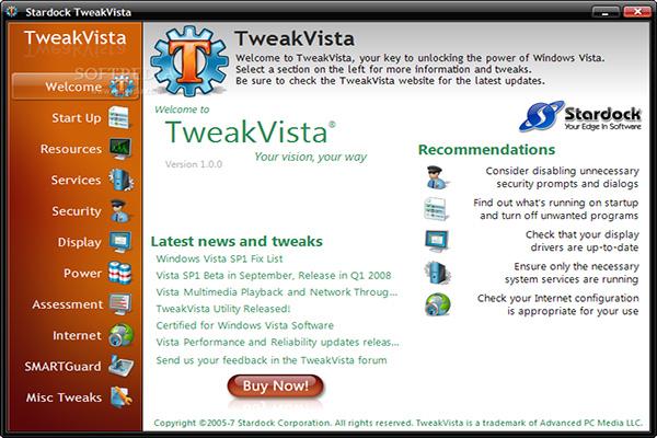 Download TweakVista