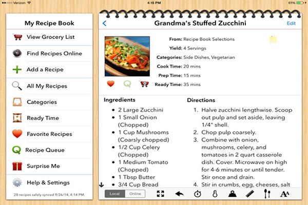 Recipe Catalog