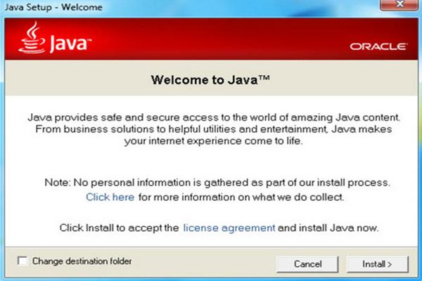 Download Java – Chạy ứng dụng Java trên máy tính