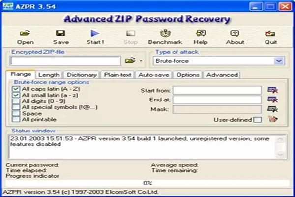 Advanced ZIP Password Recovery