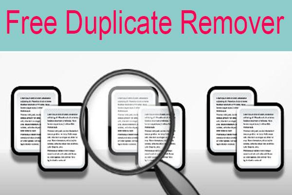 Download FreeDuplicateRemover