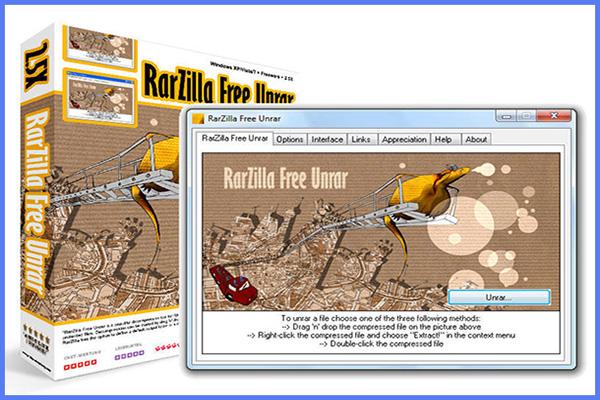 Download RarZilla Free Unrar