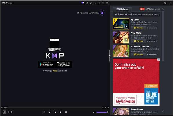Su Dung KMPlayer