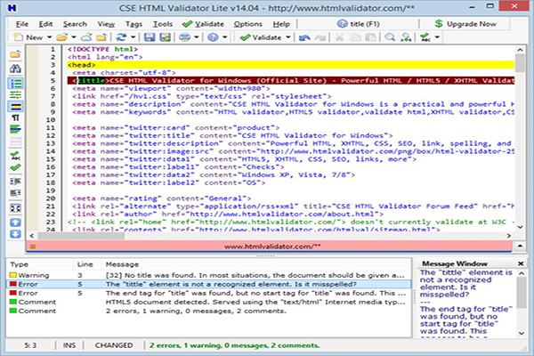 CSE HTML Validator Lite Free