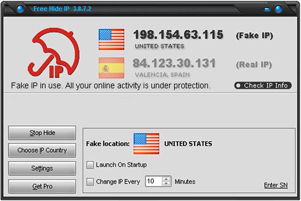 Free Hide IP An Danh Online