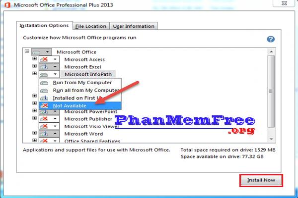 Cach Cai Microsoft Office 2013