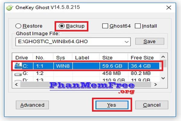 Cach Ghost Windows 7