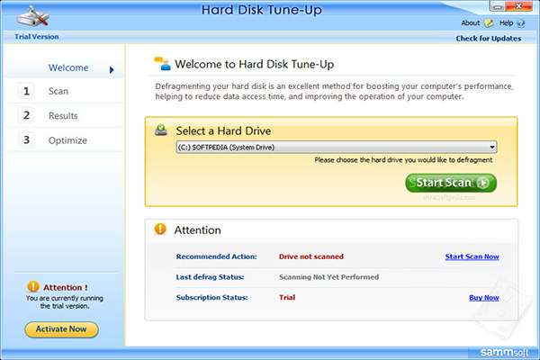Download Hard Disk Tune Up