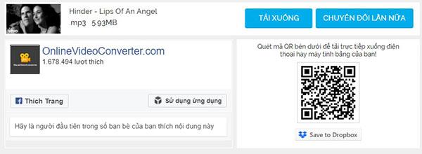 Su Dung Onlinevideoconverter