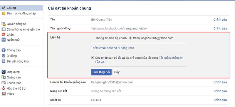 Cach lay lai mat khau facebook 1