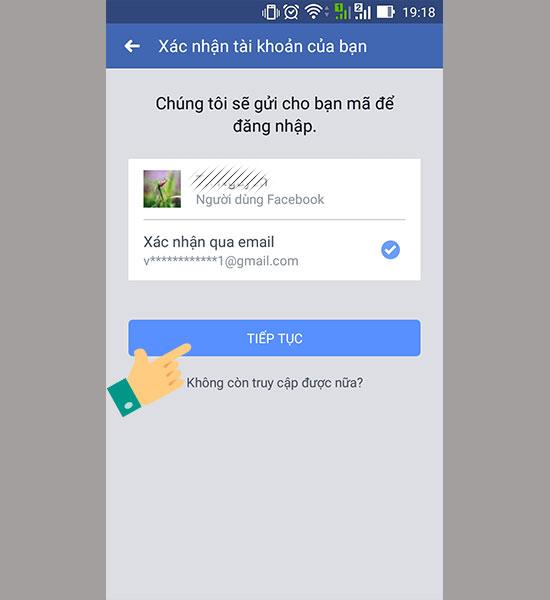 Cach lay lai mat khau facebook 3