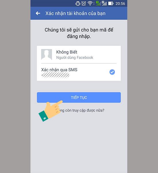 Cach lay lai mat khau facebook 4