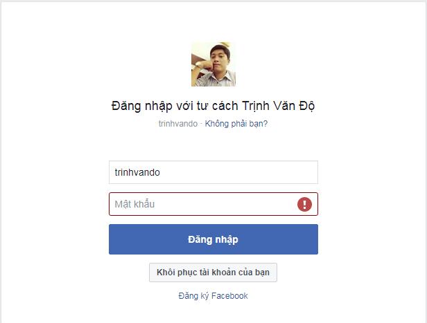 Cach lay lai mat khau facebook 9