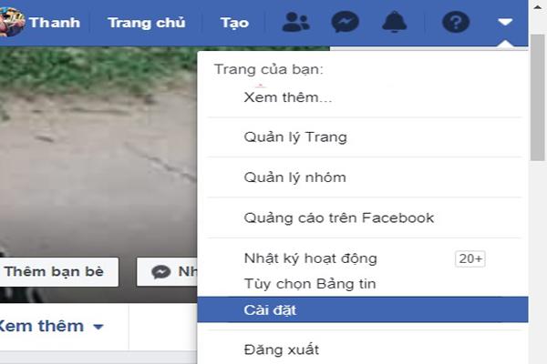 Cai Dat Tai Khoan Facebook